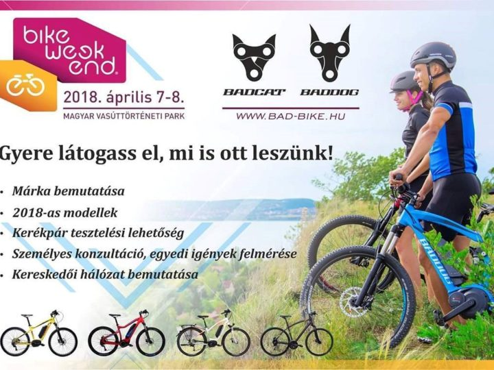 Bike Weekend 2018. április 7-8.
